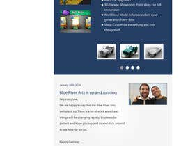 #1 para Restyle Website for BlueRiverArts por AustralDesign