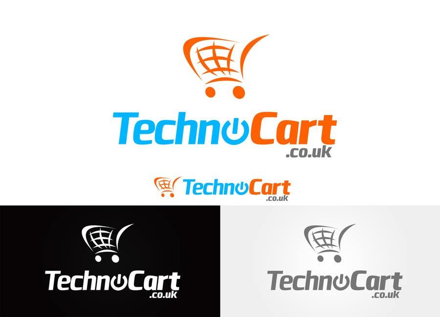 Kilpailutyö #37 kilpailussa Design a Logo for TechnoCart.co.uk