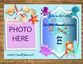 nº 30 pour Design a Birthday party invitation par agencja