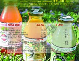 #7 para Design a Flyer for Juice Company por webcloud9