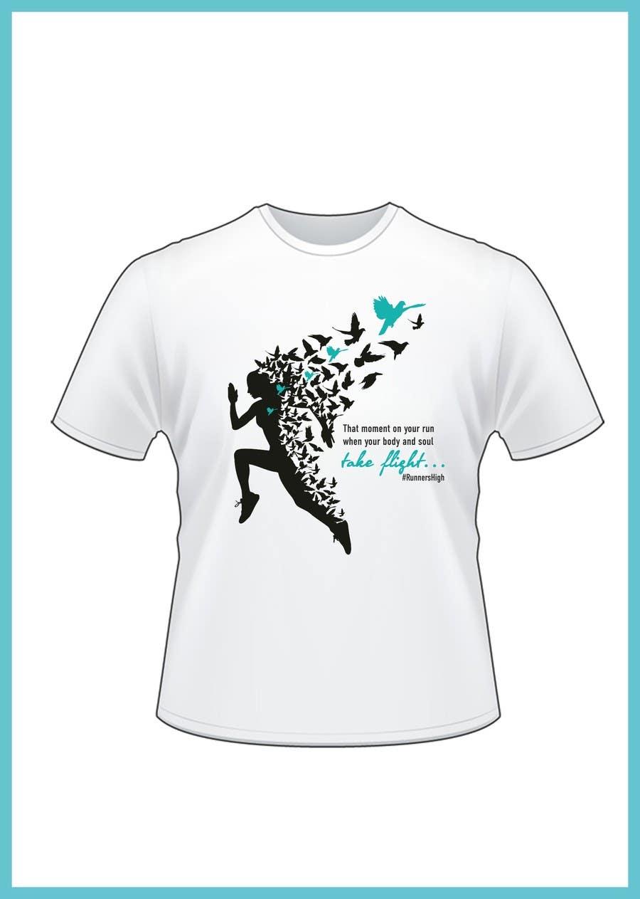 Kilpailutyö #4 kilpailussa Women's Running Shirt -- 2