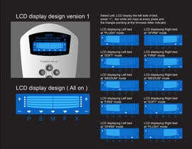 #16 untuk I need some Graphic Design to improve my current LCD display design for a remote control oleh davidliyung
