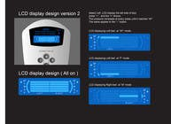 Contest Entry #17 for I need some Graphic Design to improve my current LCD display design for a remote control