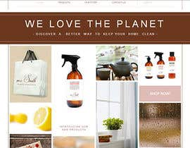 nº 46 pour Web Design for cleaning products store par manishrai22