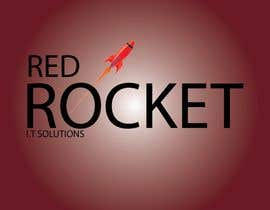 #46 für Logo Design for red rocket IT von Cancerguy