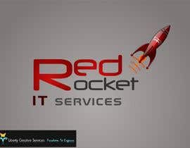 #139 für Logo Design for red rocket IT von maveric1