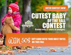 #16 for Design a Banner for Cutest Baby Contest af thecodersmart