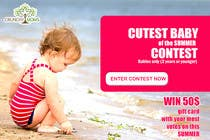 Graphic Design Konkurrenceindlæg #18 for Design a Banner for Cutest Baby Contest