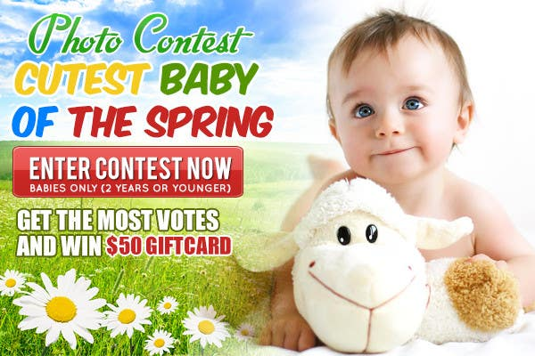 #20 for Design a Banner for Cutest Baby Contest by mayerdesigns