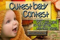Contest Entry #5 for Design a Banner for Cutest Baby Contest