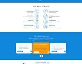 Nro 53 kilpailuun Design a Website Mockup käyttäjältä phantham