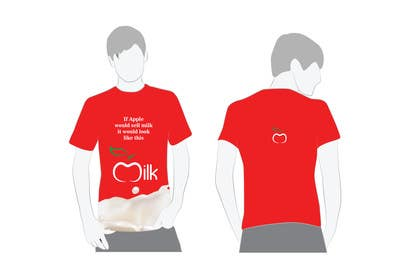 #13 for Design a t-shirt for milkyshirt by roopfargraphics