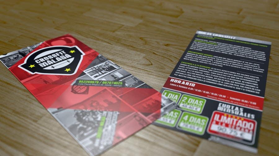 Kilpailutyö #29 kilpailussa Design a flyer for Crossfit Malaga