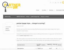 #1 untuk Design a Logo for partner bpage imps oleh shazdesigner786