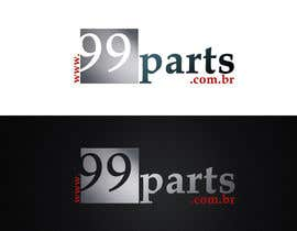 #3 for Logo for Autoparts Website ( 99parts ) by vaso90