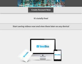 nº 30 pour Complete web design for a new video management platform par HQluhri8HQ