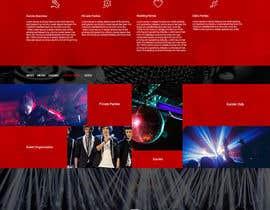 PervizHebibli tarafından Bold-Dynamic-Creative Website Mockup Design For Karaoke Business That Pops For WordPress or PHP için no 24