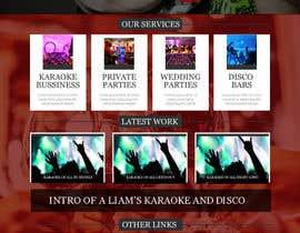 syedanooshxaidi9 tarafından Bold-Dynamic-Creative Website Mockup Design For Karaoke Business That Pops For WordPress or PHP için no 6