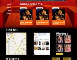 Nro 30 kilpailuun Bold-Dynamic-Creative Website Mockup Design For Karaoke Business That Pops For WordPress or PHP käyttäjältä krrish250