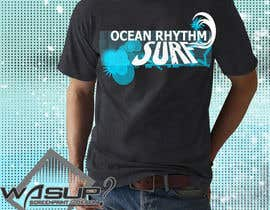 nº 9 pour Design a T-Shirt for OCEAN RHYTHM par TSZDESIGNS