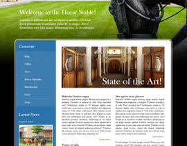 #14 cho Design a Website Mockup for Horse Stable bởi robertlopezjr