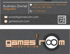 #250 cho Design a Logo for gamesroom australia bởi abhig84