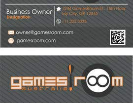 #250 untuk Design a Logo for gamesroom australia oleh abhig84