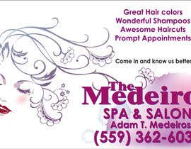 #130 para Design a Banner for a Salon and Spa por Sahir75