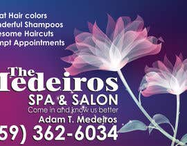 #131 para Design a Banner for a Salon and Spa por Sahir75
