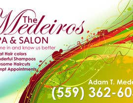 #133 para Design a Banner for a Salon and Spa por Sahir75