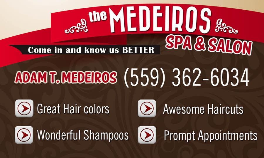 #152 for Design a Banner for a Salon and Spa by xeroiscute