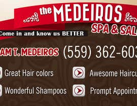 #152 para Design a Banner for a Salon and Spa por xeroiscute