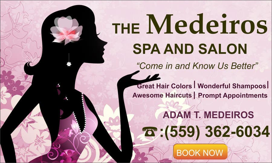 #146 for Design a Banner for a Salon and Spa by mansiartist1
