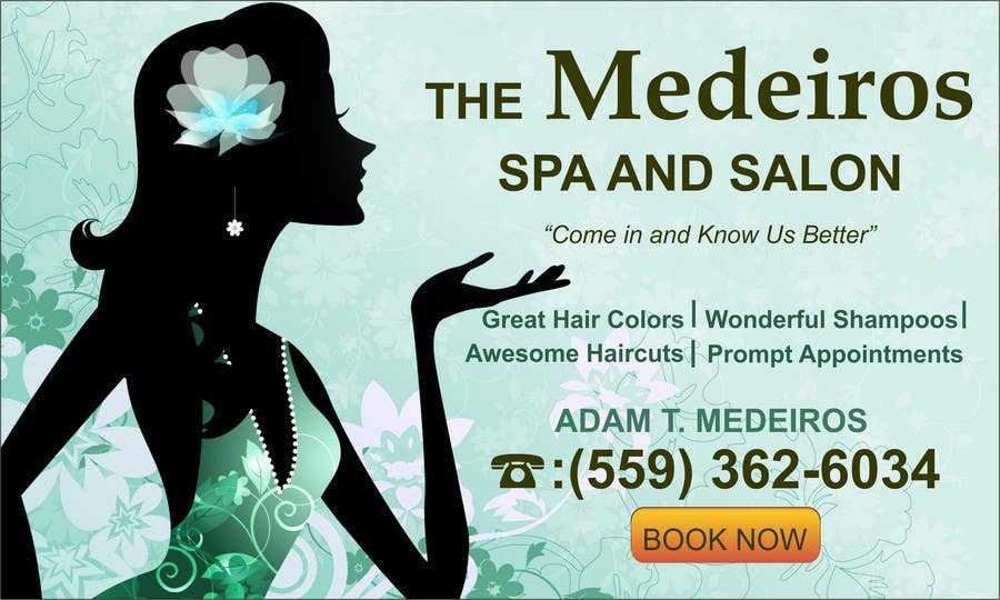 #147 for Design a Banner for a Salon and Spa by mansiartist1