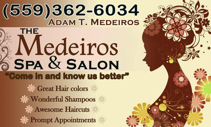 #117 for Design a Banner for a Salon and Spa by akritidas21