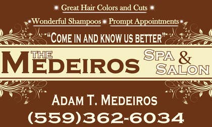 #155 para Design a Banner for a Salon and Spa por akritidas21