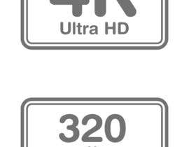 #10 for Design some Website icons for video encoding presets (symbolizing resolutions, devices) by marsalank