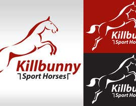 #34 untuk Design a Logo for a business that produces sport horses oleh AddictDesign
