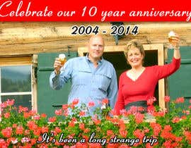 #111 for Design a Banner for our 10 year anniversary by tahira11