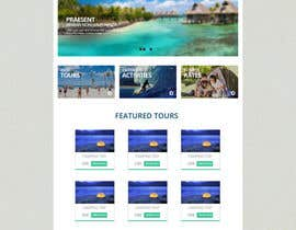 #10 for  Travel e-commerce mockup af MiNdfr34k