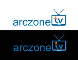 #21 para Design a Logo for ARCZONE TV por gamav99