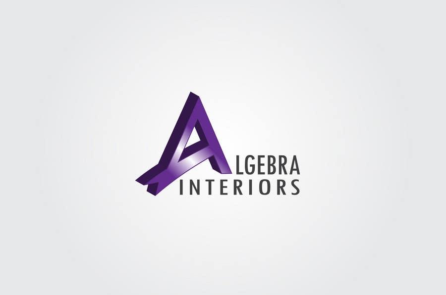 Penyertaan Peraduan #159 untuk Logo Design for Algebra Interiors
