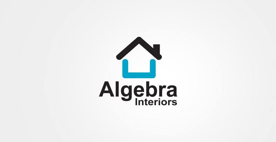 Penyertaan Peraduan #209 untuk Logo Design for Algebra Interiors