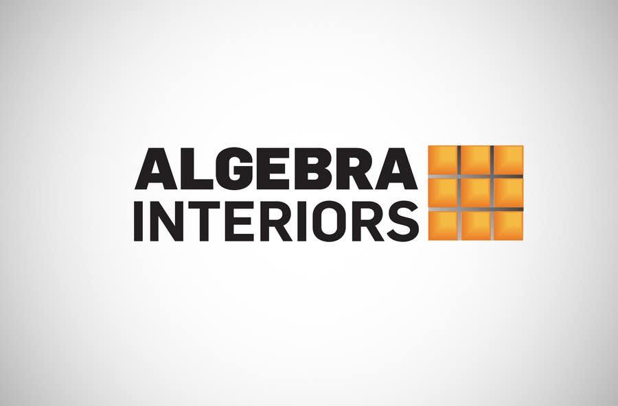Inscrição nº 14 do Concurso para Logo Design for Algebra Interiors
