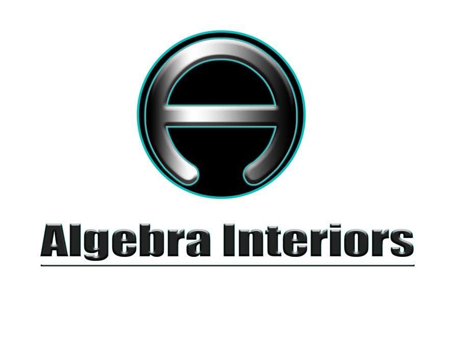 Inscrição nº 103 do Concurso para Logo Design for Algebra Interiors