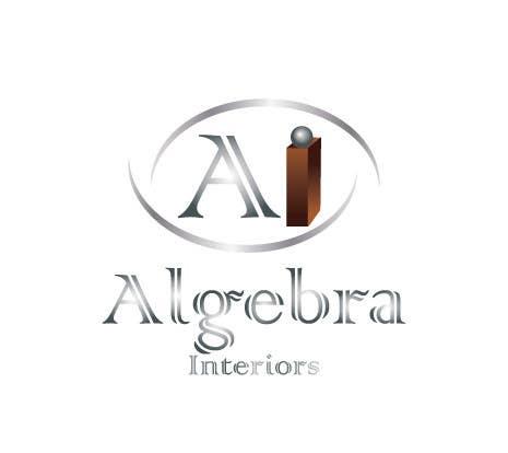 Penyertaan Peraduan #                                        142                                      untuk                                         Logo Design for Algebra Interiors