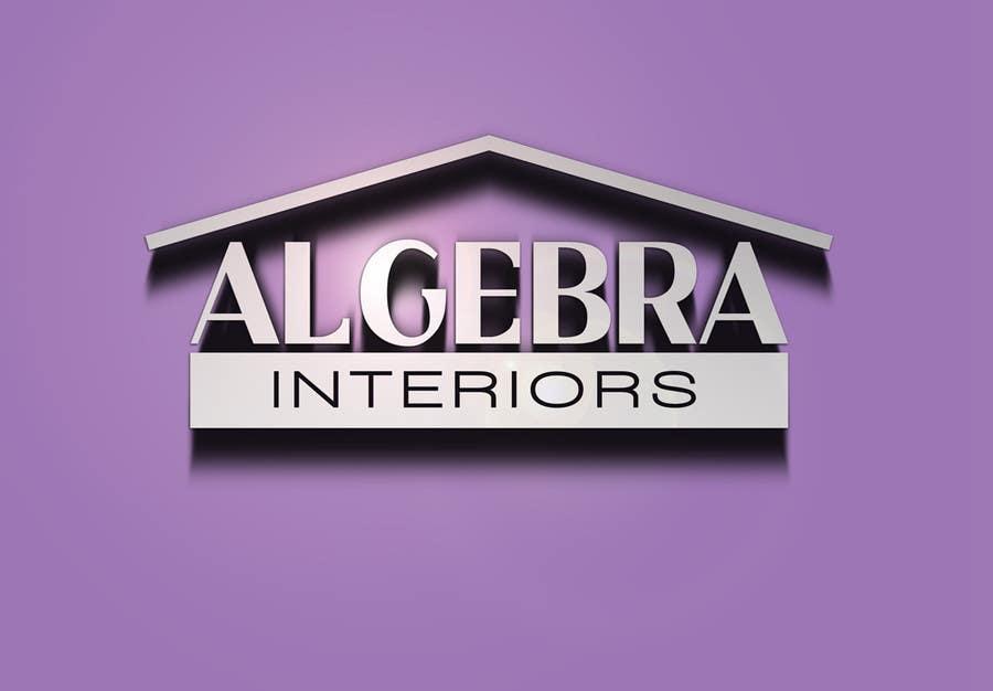 Inscrição nº 63 do Concurso para Logo Design for Algebra Interiors
