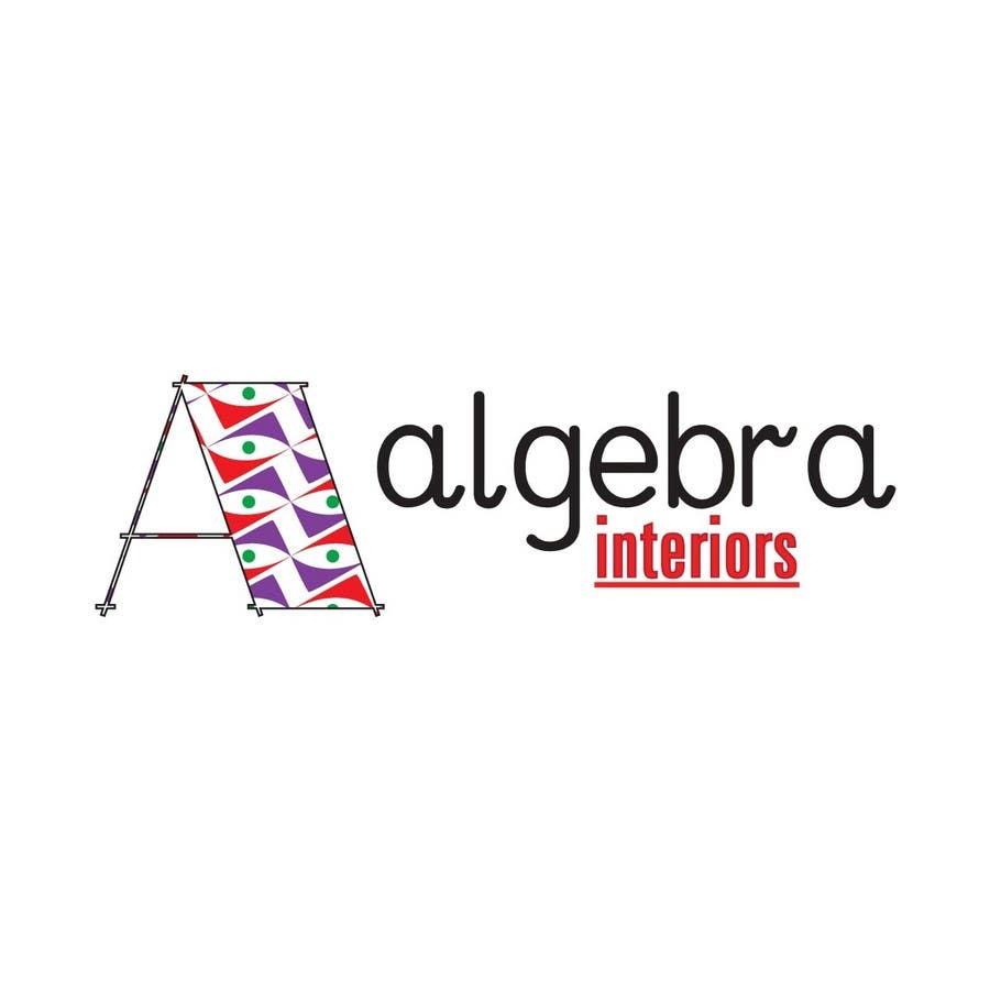 Inscrição nº 67 do Concurso para Logo Design for Algebra Interiors