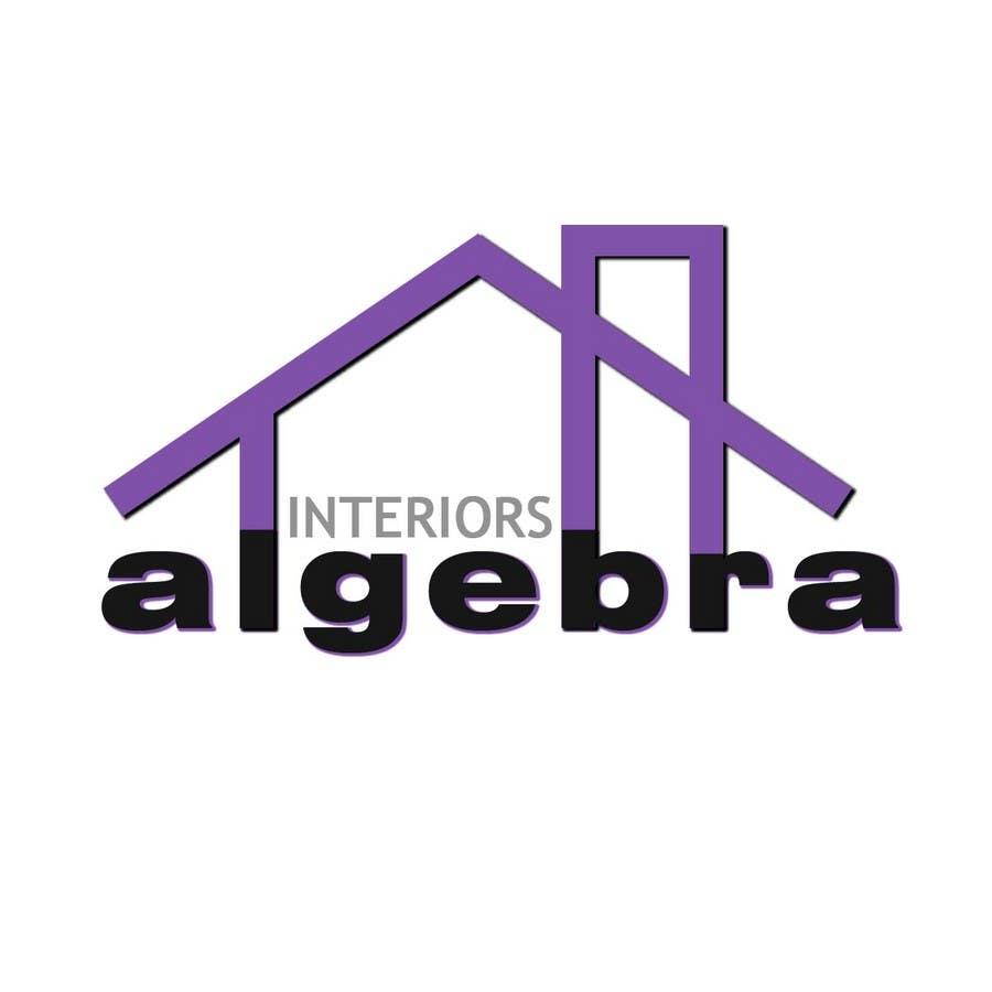Penyertaan Peraduan #98 untuk Logo Design for Algebra Interiors