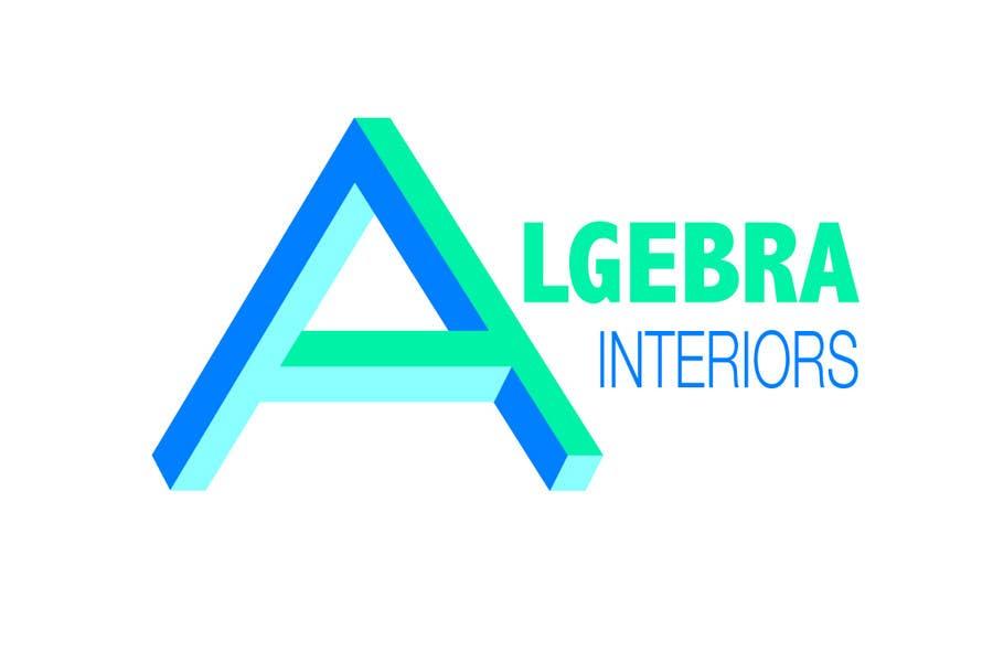 Penyertaan Peraduan #59 untuk Logo Design for Algebra Interiors